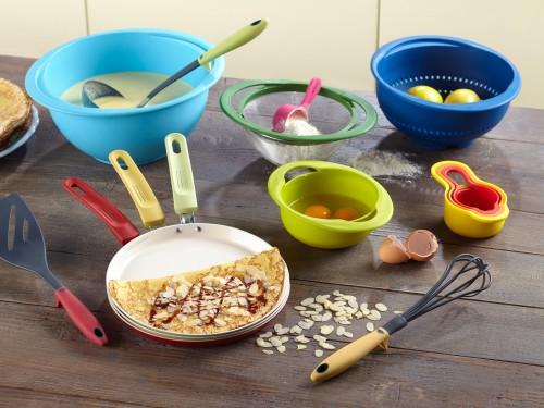 Stylish set posuda za kuhinju