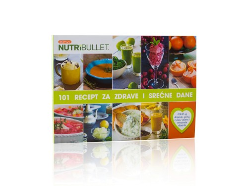 """Knjiga """"101 Nutribullet recept za zdrave i srećne dane"""""""