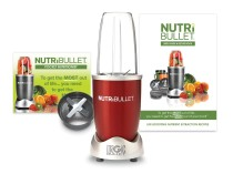 Crveni Nutribullet ekstraktor 5 delova Nutribullet