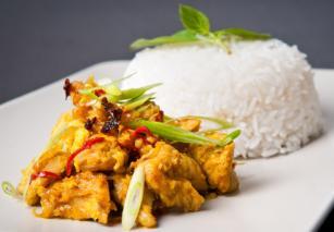 Piletina sa povrćem u kariju