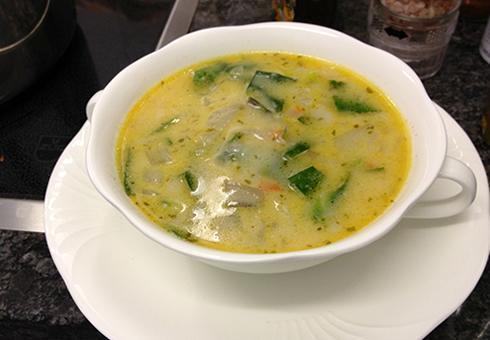 Supa od leblebije i blitve