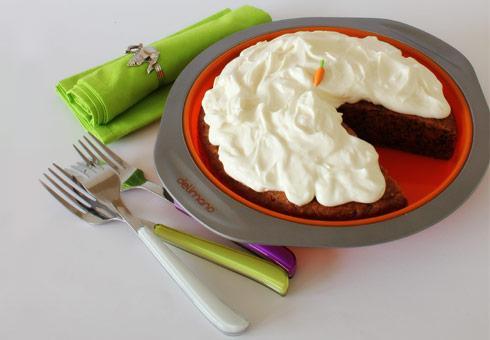 Torta od šargarepe sa glazurom od maskarponea