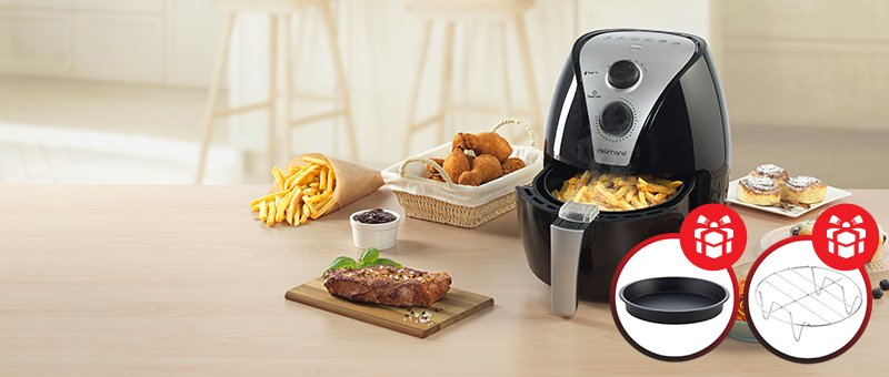 Air Fryer friteza uz čak 2 POKLONA