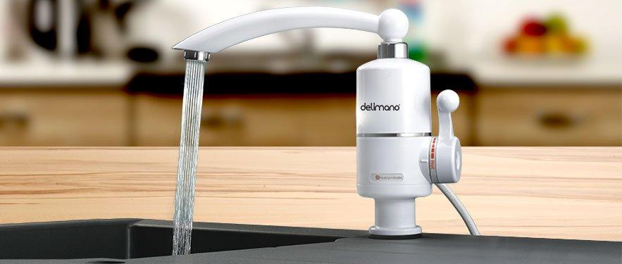 Delimano slavina za brzo zagrevanje vode