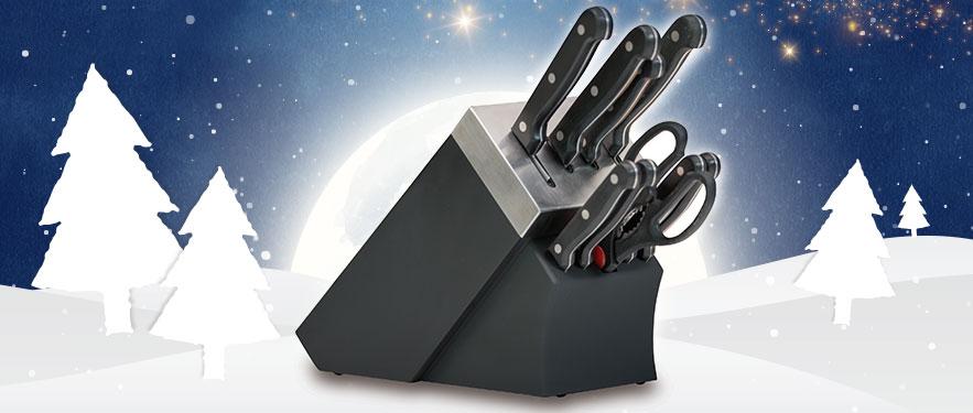 Set samooštrećih noževa